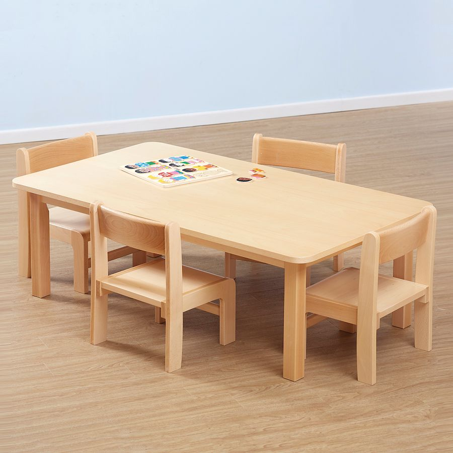 Classroom Furniture Cheap ~ Classic beech stackable chairs pack classroom